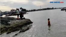 Digerebek Polisi, Terduga Pengedar Sabu Terjun ke Laut di Bangka Selatan
