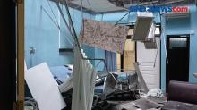 Pasca Gempa, RSUD Mardi Waluyo Kota Blitar Atapnya Roboh