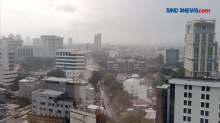 BPBD Update Peringatan Dini Cuaca DKI Jakarta