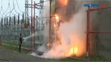 Trafo PLTG Meledak dan Terbakar