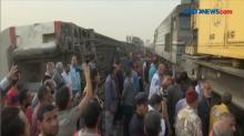 Kereta Tergelincir di Mesir, 97 Orang Terluka