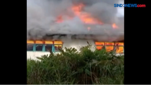 Bangunan Sekolah Dasar Ludes Terbakar