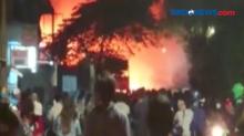 Diduga Korsleting, Kebakaran Terjadi di Gudang Mebel