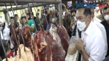 Mendag Sidak, Harga Ayam Potong di Pasar Wonokromo Merangkak Naik