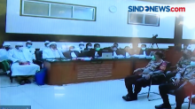 Rizieq Shihab Keberatan saat Jaksa Interupsi Dirinya