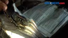 3 Kitab Al Quran Ditemukan Masih utuh di Dalam Rumah Terbakar