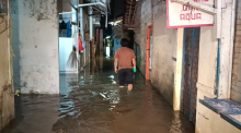 Diguyur Hujan Deras, Cipinang Melayu Terendam Banjir