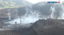 Erupsi Kawah Sileri Dieng Semburkan Batu dan Lumpur