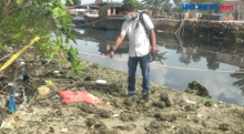 Jasad Bayi Ditemukan di Pantai Tanjung Sengkuang Batam