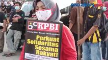 KPBI Gelar Unjuk Rasa di Pintu Pelabuhan Tanjung Priuk