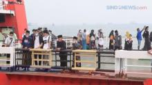 Warga Mudik Lebih Awal Lewat Pelabuhan Merak Banten