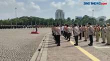 TNI-Polri dan Pemprov DKI Gelar Apel Pengetatan Prokes