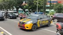 Imbas Kerumunan, Jalan H Fachrudin Arah Tanah Abang di Tutup