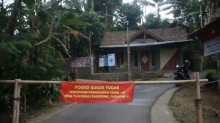 Satu Desa Terpaksa Tutup Akibat Covid 19