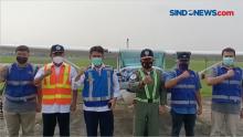 Pantau Lalin H-1 Pelarangan Mudik, PB FASI dan Jasamarga Gunakan Pesawat Cessna