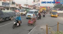 Rombongan Pemudik Motor Serbu Jalur Pantura Cirebon