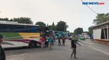 Ada 100 Bus Berstiker di Terminal Kalideres yang Boleh Beroperasi saat Larangan Mudik