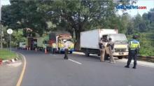 Penyekatan di Lingkar Gentong, 600 Kendaraan Roda Empat Diputar Balik