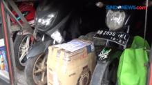 Petugas Gabungan Menemukan 3 Motor dalam Bagasi Bus