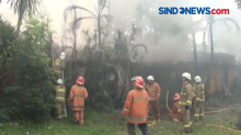 Gudang Sekolah TK Ludes Terbakar