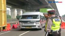 Ratusan Kendaraan di Titik Penyekatan Cikarang Barat Diputar Balik