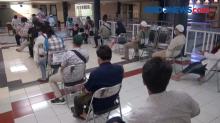 Ribuan Jemaah Antre Mendaftar Salat Idul Fitri