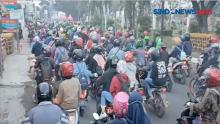 Lolos dari Penyekatan, Ribuan Pemudik Masuki Wilayah Cirebon