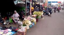 Jelang Idul Fitri, Pedagang Bunga di Bandung Banjir Pembeli