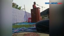 Imam Meninggal Diatas Mimbar, Usai Pimpin Salat Idul Fitri