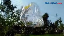 Balon Udara Terjatuh ke Kabel PLN dan Memicu Ledakan