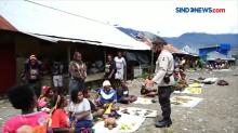 Siang Ini Puncak Papua Kondusif, Warga Beraktivitas Normal
