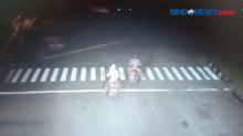 Aksi Pembegalan di Tugu Tani Terekam CCTV