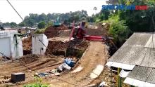 Evakuasi Crane Terguling, Proyek Rel Ganda Bogor - Sukabumi Tak Terganggu