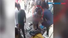 Aksi Pencopetan di Masjid Terekam CCTV