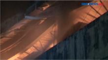 Diduga Korsleting Listrik, Percetakan Terbakar