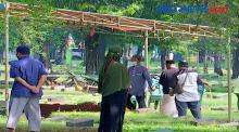 Kasus Covid-19 Naik, TPU Pondok Ranggon Penuh