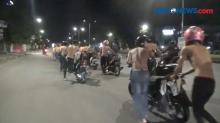 10 Anggota Geng Motor Diringkus Polisi