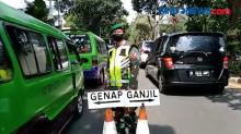 Hari Kedua Pemberlakukan Ganjil Genap di Kota Bogor, Ratusan Kendaraan Diputar Balik