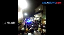 Warga Tidak Terima Dibubarkan, Operasi Penindakan PPKM Darurat Ricuh di Bulak Banteng Surabaya