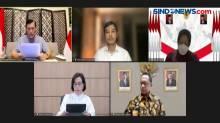 Konferensi Pers Evaluasi Pelaksanaan PPKM Darurat