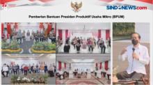Presiden Jokowi Bersyukur Tak Ambil Kebijakan Lockdown