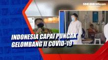 Indonesia Capai Puncak Gelombang II Covid-19