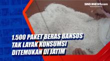 1.500 Paket Beras Bansos Tak Layak Konsumsi Ditemukan di Jatim