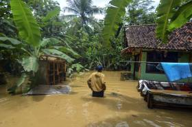 Ratusan Rumah di Ciamis Terendam Banjir