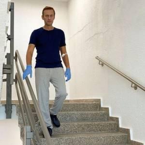 Pengkritik Kremlin Navalny Unggah Foto Berjalan Sendiri