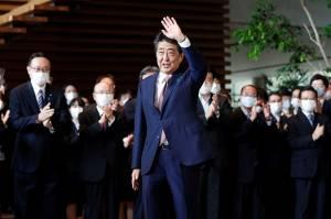 Abe Berharap PM Baru Jepang Mampu Rampungkan Perjanjian Damai dengan Rusia