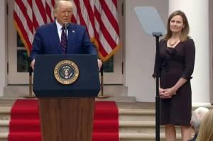 Trump Tunjuk Hakim Wanita Konservatif Jadi Hakim Agung