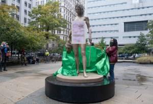 Patung Baru Medusa di Manhattan Kirim Pesan #MeToo