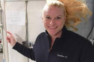 Astronaut Kate Rubins Berikan Suara Pilpres AS dari Luar Angkasa