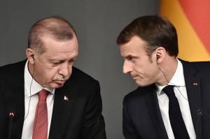 Macron Dihina Erdogan, Prancis Tarik Dubes dari Turki